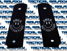 1911 TWO-TONE black SMILE wait for flash. fits mid and full colt S&W para kimber