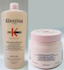 Bain Hydra Fortifiant 1000ML Kerastase + Masque Reconstituant 500ML + Free Pump