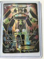 Zygarde EX FULL ART ULTRA RARE 54a/124 Alternate Pokemon Mega Power NM HOLO REAL