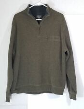 Pendleton Mens L Long Sleeve Pullover Green