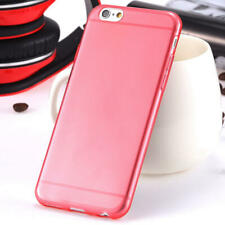 iPhone 6S iPhone 6 case Bumper Silicone Case Cover Protective Frosted Red