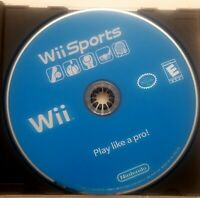 Wii Sports Nintendo Wii, 2006 DISC ONLY Video Game Tested