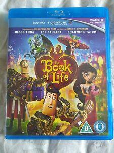 THE BOOK OF LIFE BLU-RAY ONLY - 2014 DIEGO LUNA CHANNING TATUM FILM MOVIE CERT U