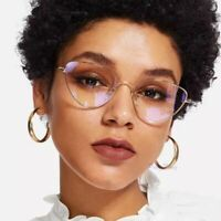 Cat Eye Frame Glasses Women Clear Lens Myopia Optical Multicolor Accessories
