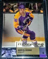 2002-03 Marcel Dionne UD Foundations #42 Los Angeles Kings
