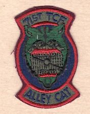 USAF Air Force Patch:  71st Tactical Control Flight - subdued