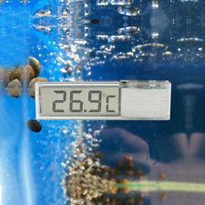 3D Digital LCD Measurement Aquarium Stick On Fish Tank Thermometer Meters