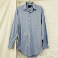 Polo Golf Ralph Lauren M Dress Shirt Lofting Blue Plaid #WW