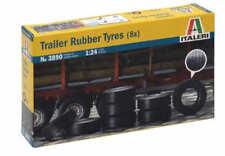 Italeri 1/24 Remolque Neumáticos de caucho (8x) #3890