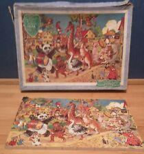 Victory Hayter Vintage Wooden Jigsaw. Humorous Animals Series