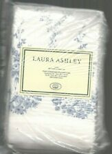 Laura Ashley Sophia Floral Standard Pillowcases White Blue New 1st Quality