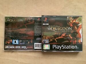 Caja REPRO The Legend Of Dragoon Playstation Ps1 R004