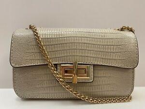 DKNY Jojo Lizard Small Flap Over Cross Body Bag REF BAG423~