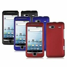 3-pack Hard Rubberized Case for HTC T-Mobile G2 - Black, Blue, Red