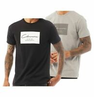 Mens Closure London Short Sleeve Crew Neck Jersey T Shirt Sizes from S to XXL