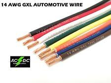 14 AWG WIRE AUTO SAE J 1128 CAR, TRUCK, HOBBY GXL WIRE W/ LEGEND PRINT