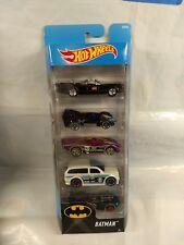 Hot Wheels - 5 Pack - Batman - Batmobile Batman Live Boom Box and others