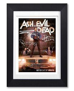 ASH VS EVIL DEAD CAST SIGNED POSTER TV SEASON SERIES PRINT PHOTO AUTOGRAPH GIFT