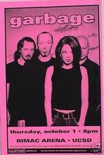 GARBAGE 1998 SAN DIEGO CONCERT TOUR POSTER -Group Standing Behind Shirley Manson