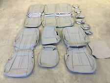 2015 2016 2017 Ford F150 Super crew Stone Gray Katzkin leather seat cover set