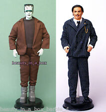 """Munsters Herman Addams Family Gomez Ken Doll NO BOX Just Removed Barbie Lot 2"""""""