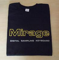 RETRO SYNTH MIRAGE DIGITAL SAMPLER DESIGN  T SHIRT S M L XL XXL