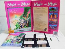 PC DOS: Might and Magic 4 Clouds of Xeen  - New World Computing 1992 - Big Box