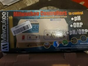 Milwaukee MC122 pH Controller 115V, for CO2 Dosing/Monitor/Meter/Instruments