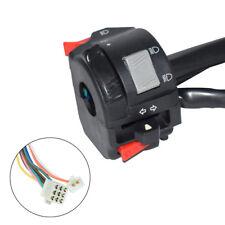 "7/8"" ATV Quad Bar Switch Headlight Indicator Light Beam Winker Horn Wire Harness"
