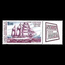 "TAAF 1984 - International Stamp Exhibition ""Nordposta"" Ships - Sc C84 MNH"