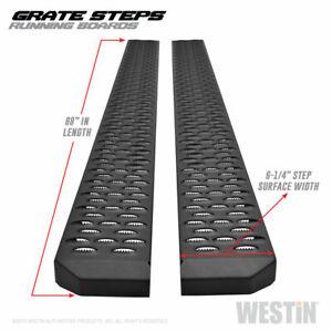 Westin For 2008-2017 Buick Enclave Black Grate Steps Running Boards - 27-74715