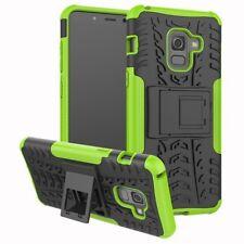 Carcasa híbrida 2 piezas exterior Bolso Verde Funda para Samsung Galaxy A8