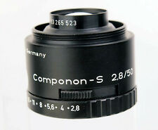 Schneider Kreuznach componon-s 2,8/50mm 50 mm 1:2,8 enlarger lens 13265523