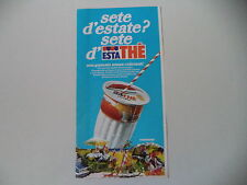 advertising Pubblicità 1978 FERRERO ESTATHE' ESTA THE'