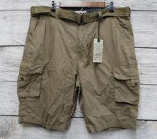 Alexander Julian Colours Shorts Mens Size 40 British Khaki Cargo New - Mis Tag