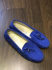 Tod's Women Loafers Shoes Used Very Good Condition Size 35.5 Flats