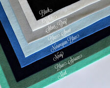 "Wow Winter Mint Felt Collection Merino Wool Blend Felt, Eight 12"" X 18"" Sheets"