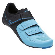 Pearl Izumi Women's Select Road v5 Bike Cycling Shoes Black/Aqua Blue - 43