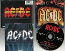 AC/DC-Hard As A Rock [2 trk CD single](1995) EASTWEST 64368-2 Fold Out Poster