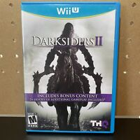 Darksiders II (Nintendo Wii U) CIB Complete with Manual Tested & Working