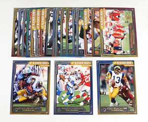 2000 Pacific Private Stock Extreme Action Football Set (20)