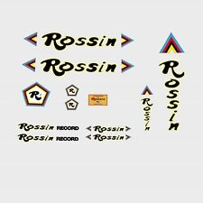 Rossin Record Bicycle Frame Stickers - Decals - Transfers - n.6