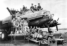 B-17 Air Force Bomber Named Hell's Angels-358th Bombardment Squadron-1943