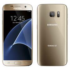 Samsung Galaxy S7 SM-G930 (Latest Model) - 32GB - Gold Platinum (AT&T) Smartphon