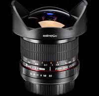 Fisheye Objektiv 8mm 3,5  für Canon EOS 1000d 550d 500d 600d 450d 50d 60d 1100d