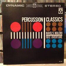 EXC LP~KARL REINER & HAMBURG PHILHARMONIC~Percussion Classics~Bolero~1812~[WLP]~