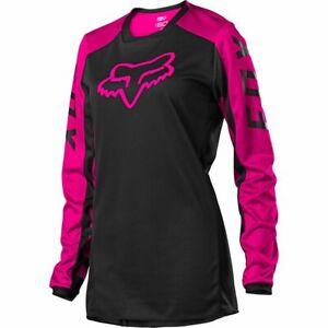 Fox Racing Womens 180 Djet Jersey - Black/Pink