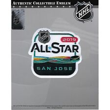 2019 Official NHL All Star Game San Jose Sharks Embroidered Jersey Patch