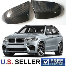 2015-2017 BMW X5M F85 X6M F86 Real Carbon Fiber Mirror Cover Pair DIRECT ADD-ON