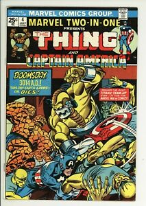 Marvel Two In One 4 - Bronze Age Classic - High Grade 8.5 VF+